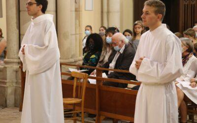 Ordination sacerdotale d'Adrien Dagois et Amaury Martini
